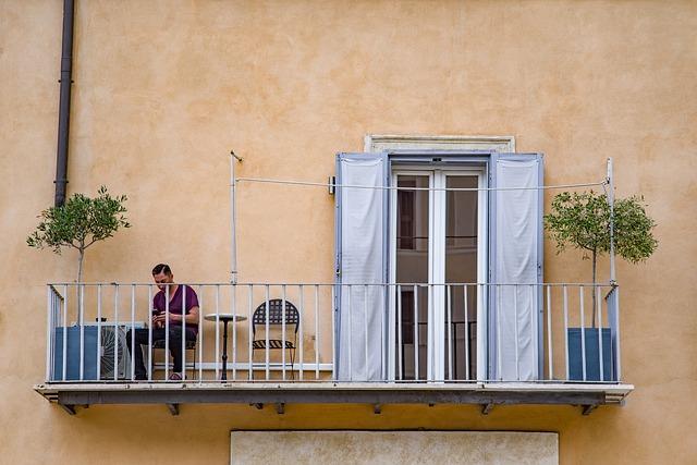 zábradlí na balkon