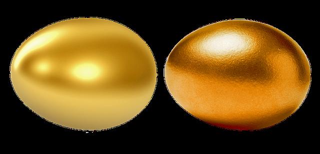 zlaté vajíčko
