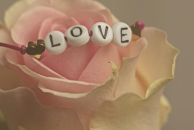 náramok láska na ruži
